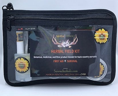Herbal Field Kit   FIRST AID + SURVIVAL