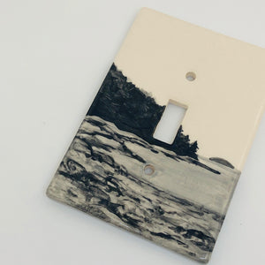Maine Single Lightswitch Plate
