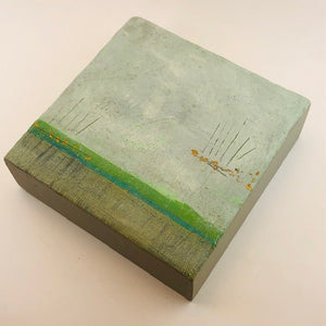 'Camp 1' Encaustic