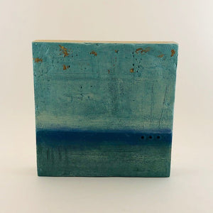 'Camp 4' Encaustic