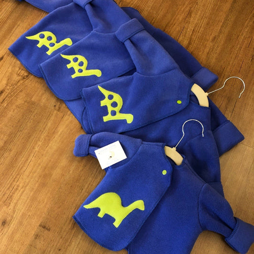 Blue Dinosaur Infant Jacket