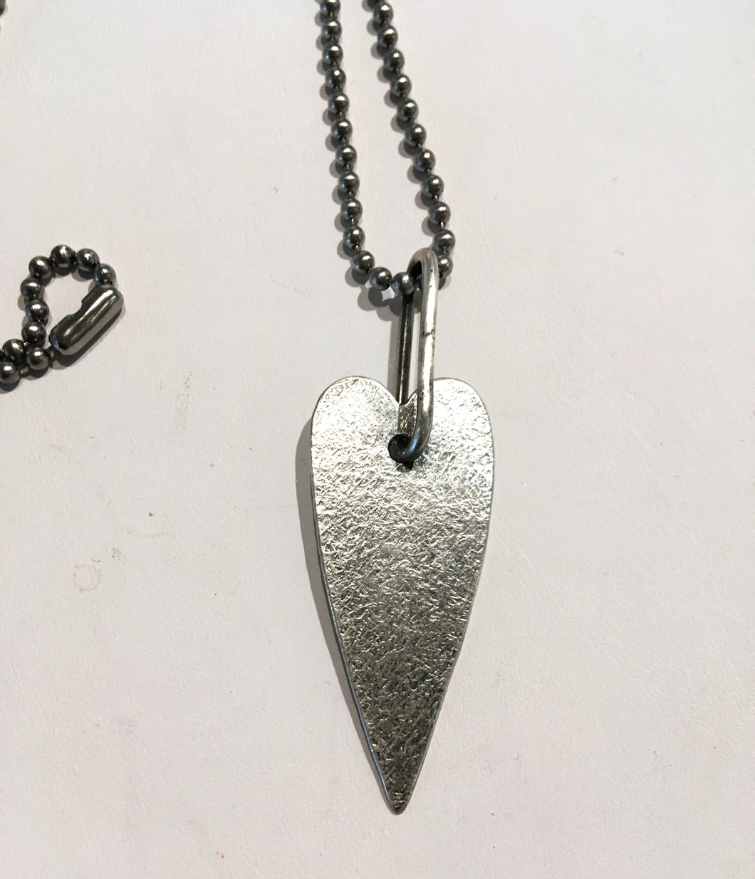 Heart Strength Necklace - Handworks Gallery