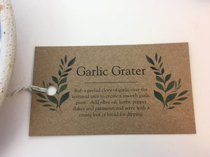 Garlic Grater - Handworks Gallery
