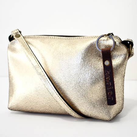 Kurier Leather Crossbody Bag - Handworks Gallery