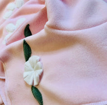 Pink Flower Infant Jacket