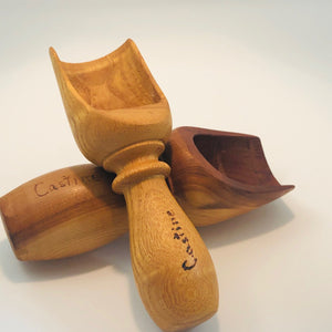 Small Wooden Scoop