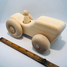 Wooden Farm Tractor Toy
