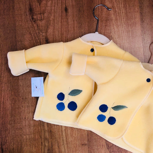 Yellow Blueberry Infant Jacket