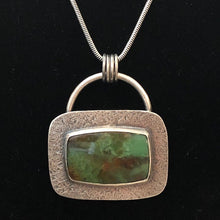 Chrysoprase/Matrix Necklace - Handworks Gallery