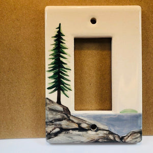 Maine Rocker Lightswitch Plate