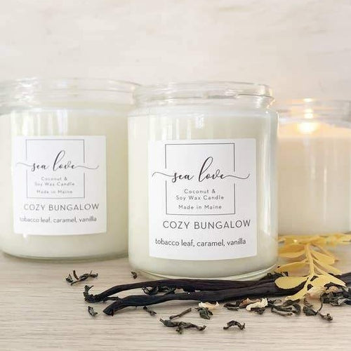 Handpoured Coconut & Soy Wax Candles