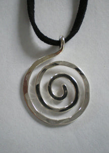 Simple Spiral Necklace - Handworks Gallery