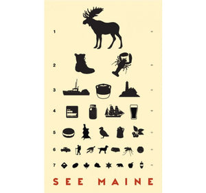 SEE MAINE - Giclee Print - Handworks Gallery
