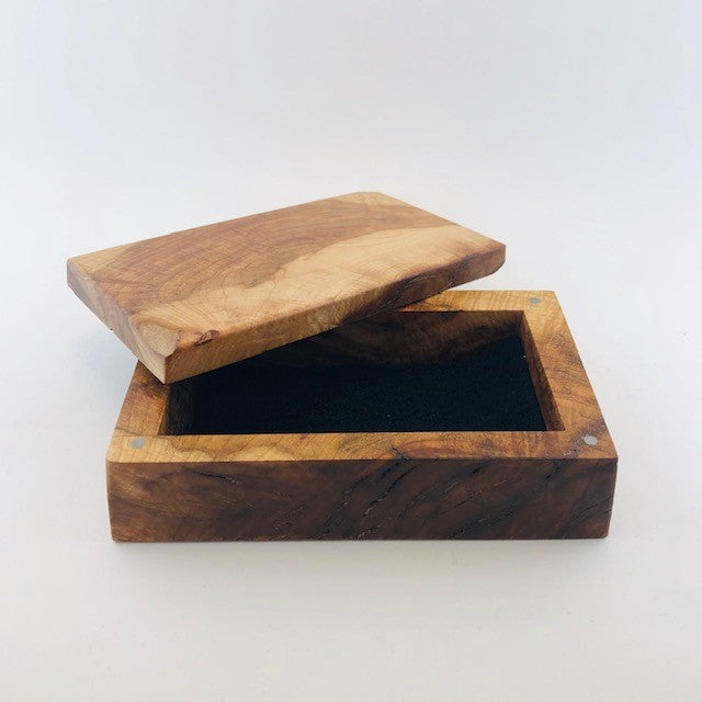Medium Maple Burl Box