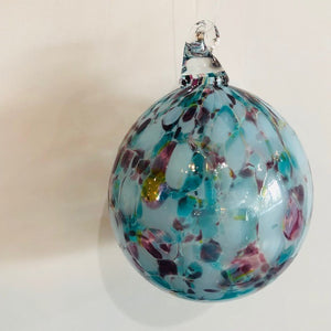 """Stained Glass Window"" Glass Ornament - Handworks Gallery"
