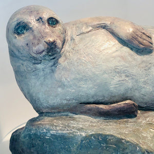 'The Dreamer' Seal Sculpture