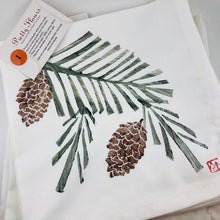 Pine & Cone Napkins (Set of 4)