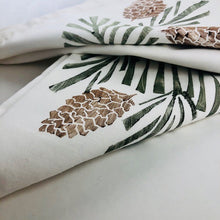 Pine & Cone Napkins (Set of 4) - Handworks Gallery