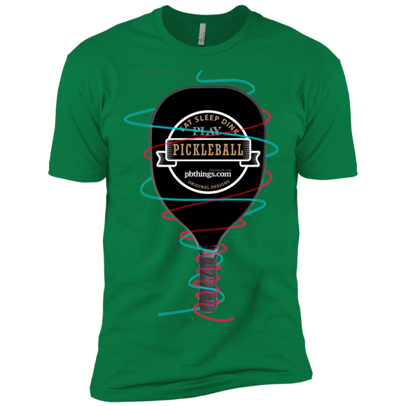 Wrapped Up Pickleball NL3600 Next Level Premium Short Sleeve T-Shirt