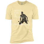 Keep Calm Play Pickleball NL3600 Next Level Premium Short Sleeve T-Shirt