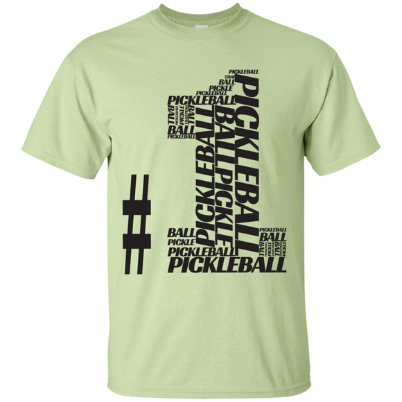 Number One Pickleball G200 Gildan Ultra Cotton T-Shirt