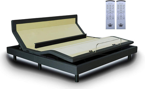 "DM9000s Adjustable Bed SET (with 10"" Gel Memory Foam Mattress)"