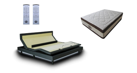 DM9000s Series Adjustable Bed Base Frame - DynastyMattress