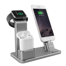 YFW Stand for Apple Watch 4 in 1 AirPods Accessories Charging Dock Phone Holder for iWatch Series 2/1/iPhone 7/7Plus/6s Plus/5s