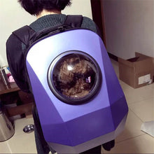 BEST Space Capsule Shaped Pet Carrier Breathable Multifunction backpack for cat outside Travel portable Dog Carry bag