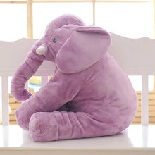60/33CM Large Stuffed Plush Animal Elephant Toys Kawaii Soft Giant Elephant Sleeping Pillow Kids Toys Baby Calm Cushion