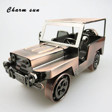 Office decoration retro handmade metal classic  car model collection men gifts children toys retro home accessories