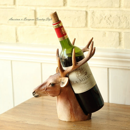 Resin Egyptian Deer Wine Rack Bestet Wine Bottle Holder Animal Egyptian  Wine Stand Accessories Home Bar Decor top quality