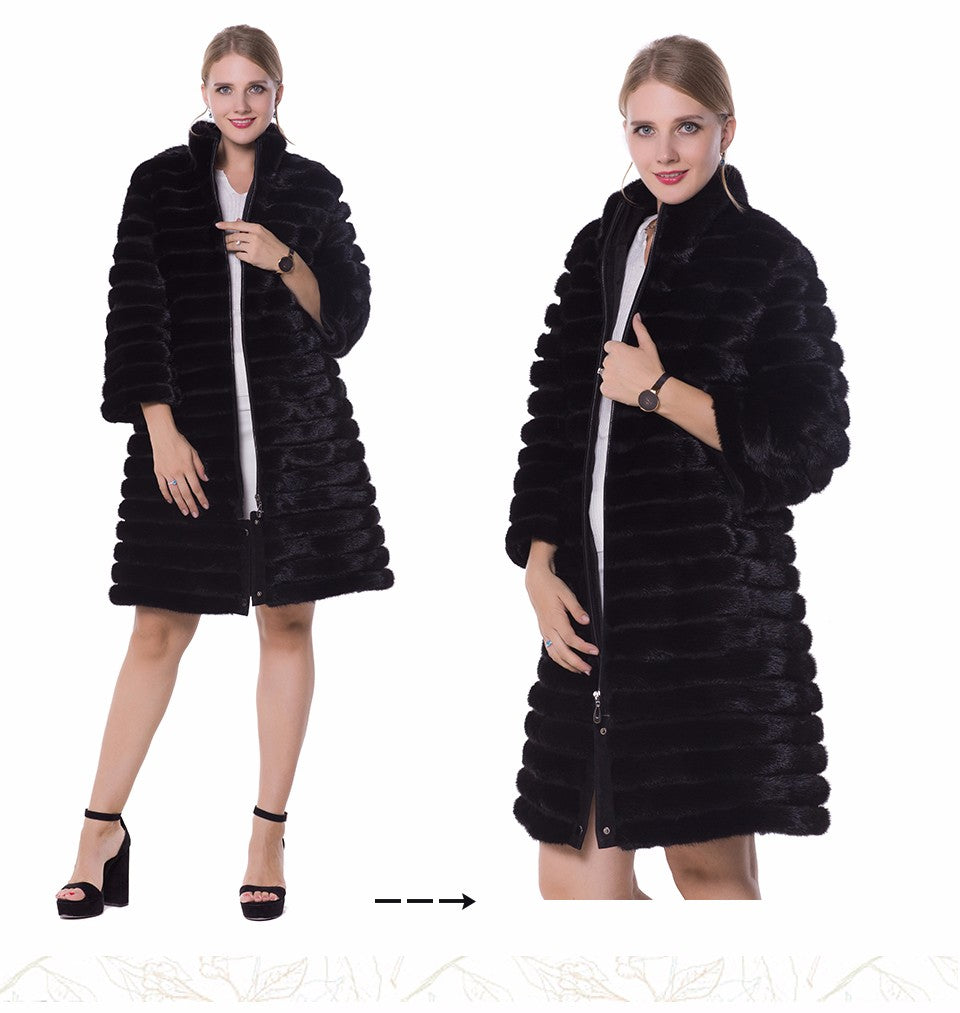 Real fur Women fur coats,Genuine Leather, styles mink coat ,Fashion Slim Winter coats of fur,sell well natural fur