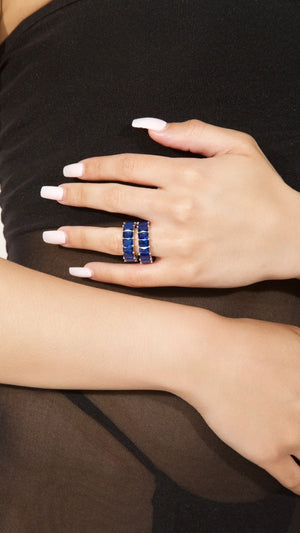 Lindsy Ring | Royal Blue