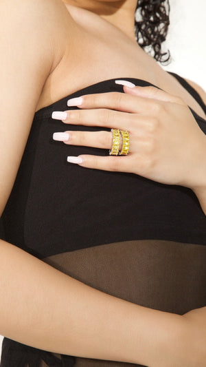 Lindsy Ring | Yellow