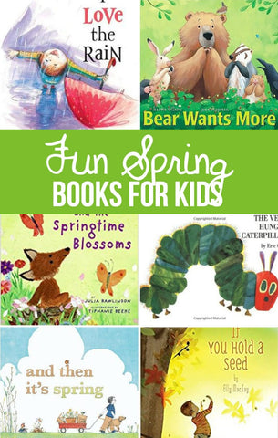 Spring Time Books for Kids