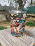 Custom Comic Book Stainless Steel Tumbler