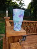 Mermaid Watercolor Stainless Steel Tumbler