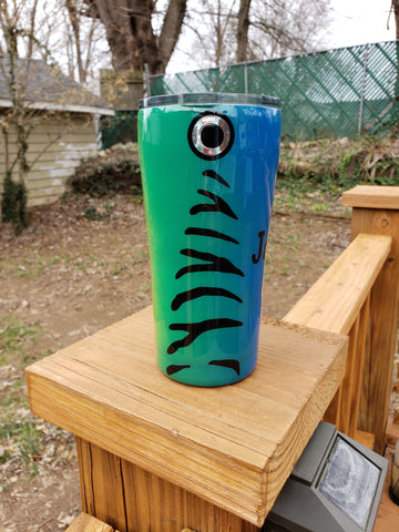 Fish Lover Custom Stainless Steel Tumbler