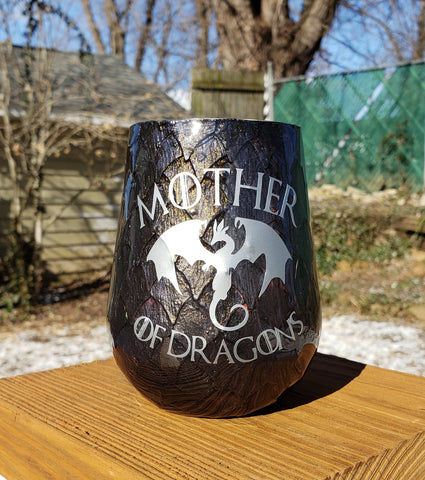 Dragon Scale Game Of Thrones Stainless Steel Tumbler