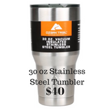 Northern Lights Stainless Steel Tumbler