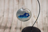 Home State Christmas Glass Ornament