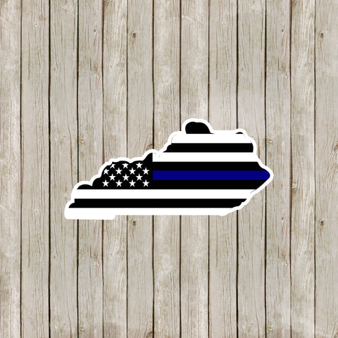 Kentucky Thin Blue Line Decal