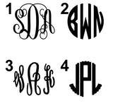 Lilly P Inspired Vinyl Monogram Flash Sale
