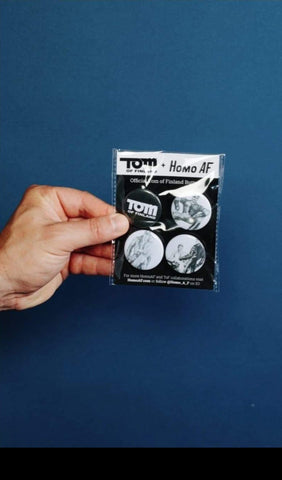 Tom of Finland Button Pack #2