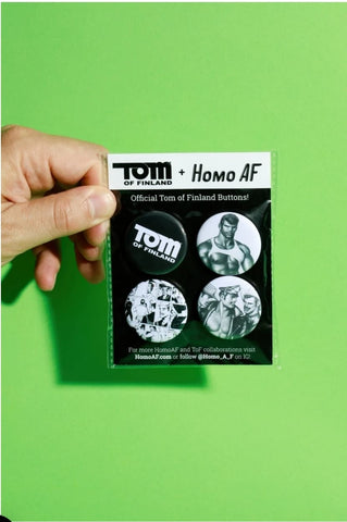 Tom of Finland Button Pack #1
