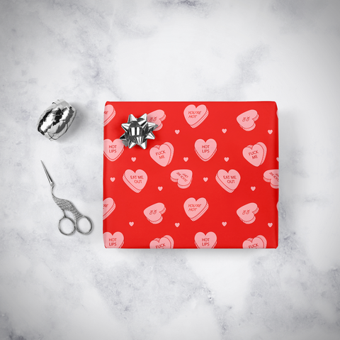 Heart Candy Giftwrap