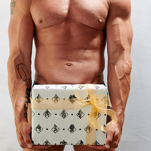 Tom Diamonds for the diamond - Tom of Finland Official Wrapping Paper