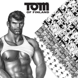 Assortments of 4 - Tom of Finland Official Wrapping Paper
