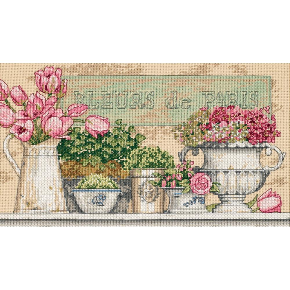 Flowers Of Paris (14 Count) - Hobby Sense